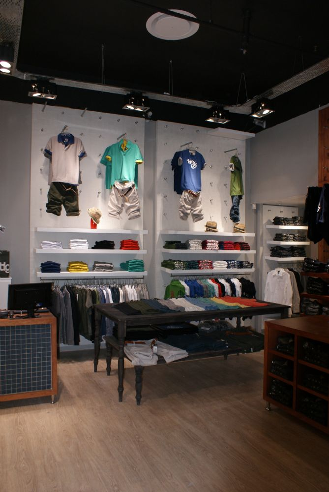 Vertigo clothing store